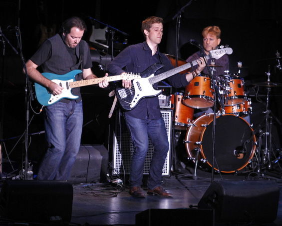 Jeff Harding Band opening for Blues Legend Robert Cray April 2011 and Tower of Power 2012